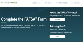 FAFSA is Open!