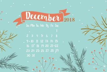Calendar Items & Information