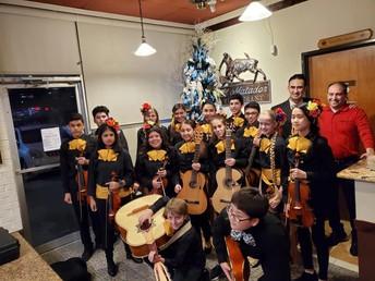 McMath MS Mariachi performs at El Matador