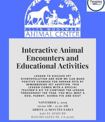 Helen Woodward Animal Encounters