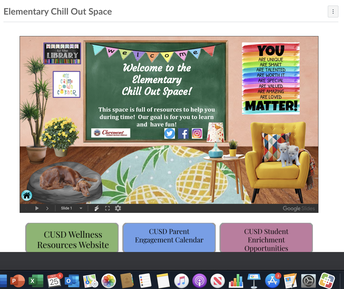 Elementary Chill Out Space