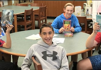 What are books are Keith Valley Students reading?