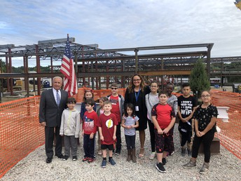 Topping Off Ceremony at Stephen Olney Site