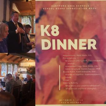 K8 Dinner Meeting
