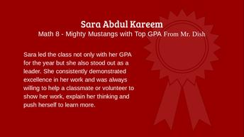 Sara Abdul Kareem
