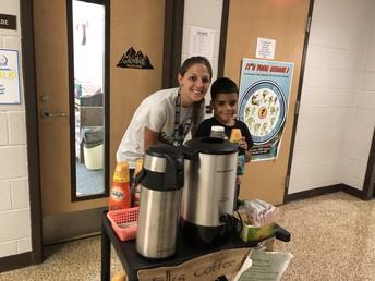Mrs. Gould's Class Coffee Cart