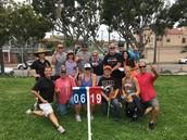 Winners of the 8th Grade vs. Staff Softball Game