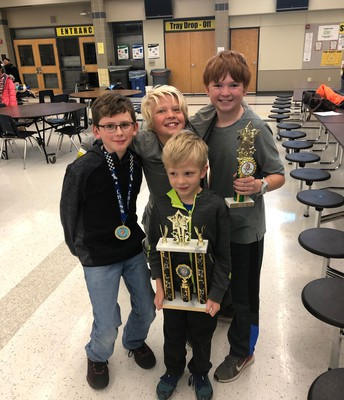RM 3rd place finish at Chess Tournament