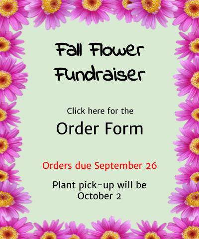 Fall Flower Fundraiser Order Form