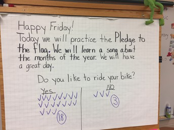 Happy Friday: Responsive Classroom Letter