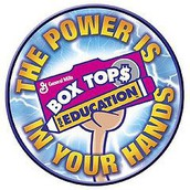 Box Tops collection drive was a success!!!