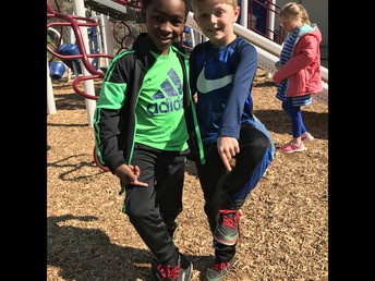 Matching Shoes = Recess Buds