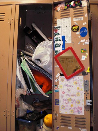 Books/Uniform Dropoff & Locker Cleanup