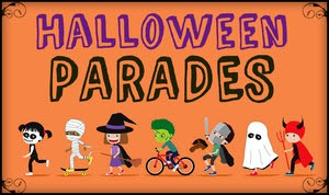 Grant Halloween Parade, Wednesday, 10/31 *New Time This Year*