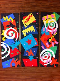 Abstract Collage Inspired by Henri Matisse: