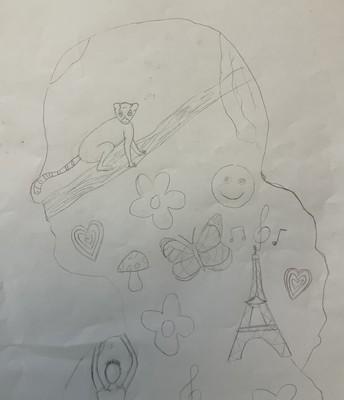Joss, Room 12 - Outline Artwork