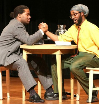 Ebony Road Players 'The Meeting' play