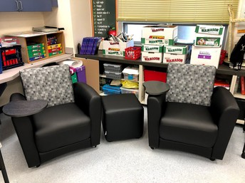 Awesome Seating for Sixth Grade!