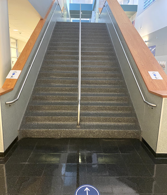 Up Only & Down Only Stairwells