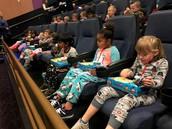 Kindergarten goes to Polar Express