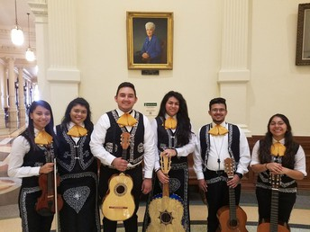 Check out Crockett's Mariachi at the Hideout Theatre