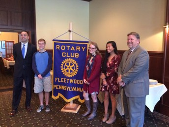 Rotary Club Student of the Month; Vincent Ferrizzi