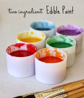 Two Ingredient Child Safe Milk Paint