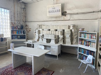 The Garage Pop-Up Bookstore
