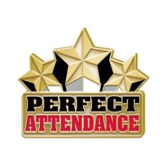 Congratulations Perfect Attendance Winners