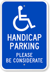 Pick up and Drop off/Handicap Parking Spots