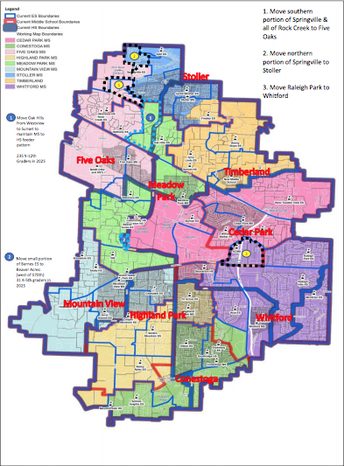 Middle School Boundary Advisory Committee Update