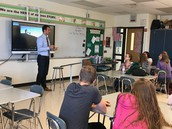 Guest Speakers visit English classes