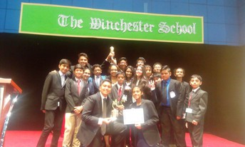 NMS students make a mark at the Model United Nations hosted by The Winchester School, Jebel Ali