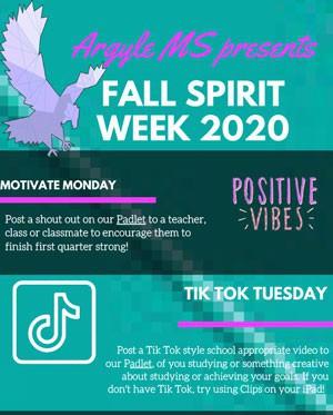 Fall Spirit Week