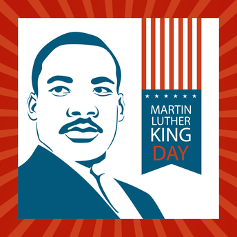 School Closed Monday, 1/18: Martin Luther King Jr. Day