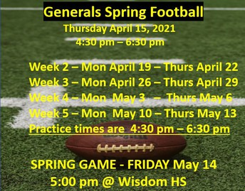 Spring Football Game