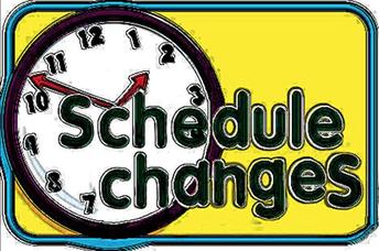 SCHEDULE CHANGE DEADLINE AUGUST 16th!