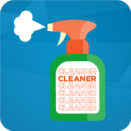 3.  Cleaning