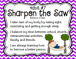 5/20 SHARPEN THE SAW WEDNESDAY