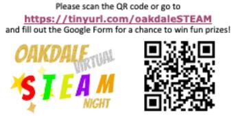 Virtual STEAM Night