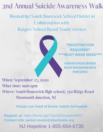 2ND ANNUAL SUICIDE AWARENESS WALK