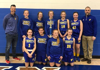 CONGRATULATIONS GIRLS A TEAM - 3rd PLACE BLUE DIVISION