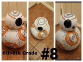 6th-8th Grade Winner - Levi (BB8)