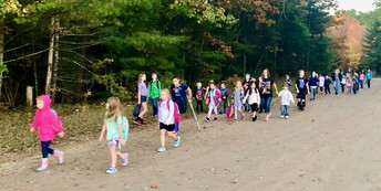 National Walk to School Day!