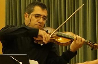 Juan Luís Gallego, violí - Trío Arriaga