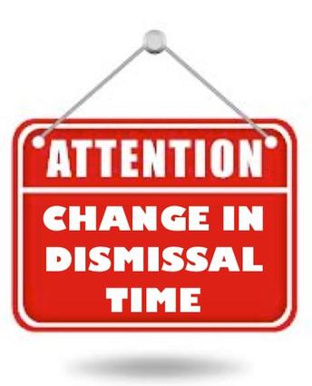 NEW Dismissal Times