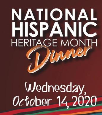 Hispanic Heritage Month Dinner