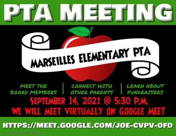 PTA Meeting TONIGHT!
