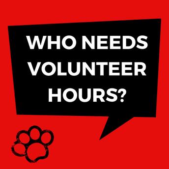need volunteer hours?