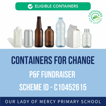 P&F Fundraiser - Containers for Change